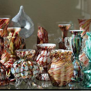 Some Shelves of Welz!! - Art Glass