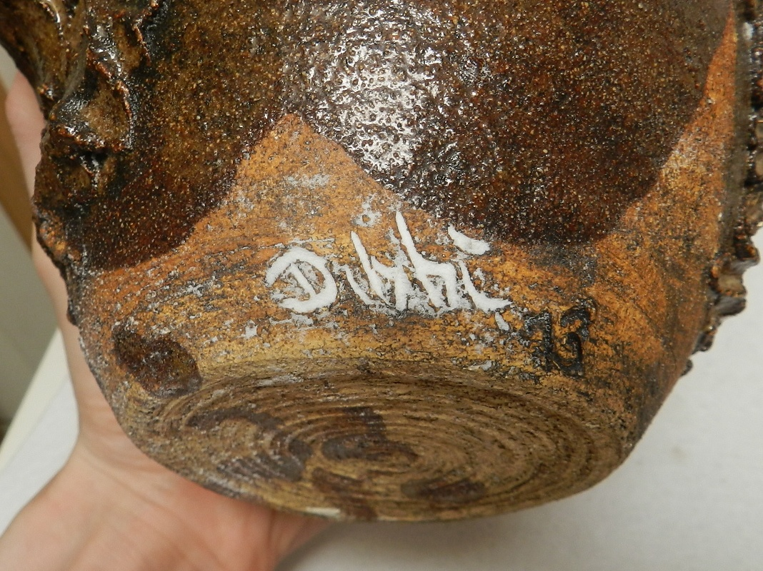 Interesting 73 Studio Pottery Vase Help With Signature Collectors Weekly