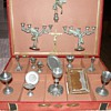 Pewter Victorian Toy ,Service pour dire la messe