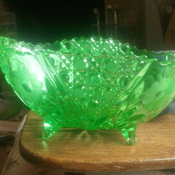 depression glass bowl - Glassware