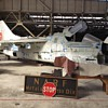 A7 Corsair in Abandoned WW2 Hangar, Alameda NAS