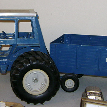 My Big Blue Tractor