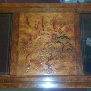 Vintage oriental coffee table