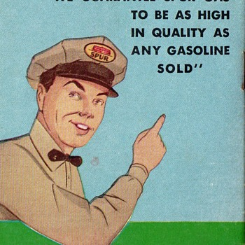 Vintage Spur Gas and Oil Premiums Booklet - Advertising