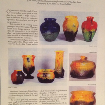 Fair Market Value Spring 1997 - Art Glass