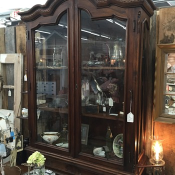 China cabinet top just purchased - Furniture