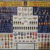 My favourite wall poster of 1943 U.S.Coast Guard, U.S.Marine Corps & U.S.Navy Insignia, Medals & Decorations
