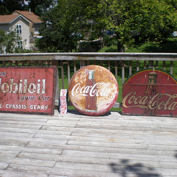 old signs - Coca-Cola
