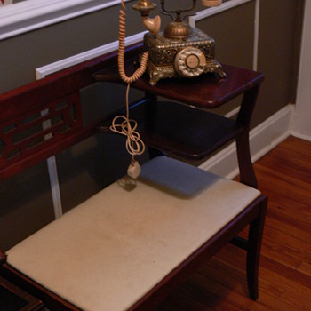 Telephone bench seat - Furniture