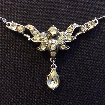 Antique paste necklace ?