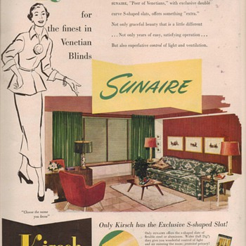 1950 Kirsch Advertisements