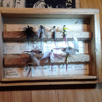 Vintage Japanese Fly Hooks by Seacoast - Fishing