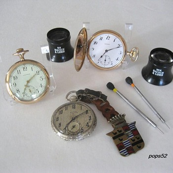 Size 12 Pocket Watches. - Pocket Watches