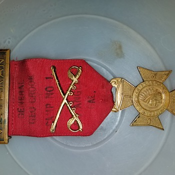 Indian war badge/medals