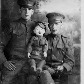 2 Soldiers and a prop :-) - Military and Wartime