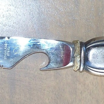 Sterling handle Ambassador Cultry Mfg Co, Sheffield England Cheese Knife - Sterling Silver