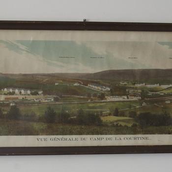 Camp de la Courtine...French Army Base....pre WWI photo