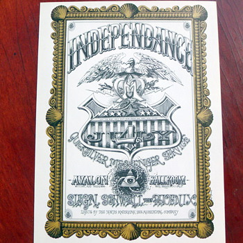 "July 4th 1967 Quicksilver Messenger Service ""Independence"" FD 69 - Music"