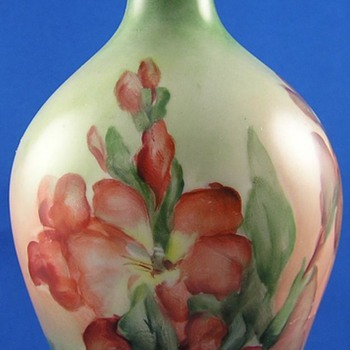 Moritz Zdekauer (MZ) Austria Gladiolas Motif Vase (c.1884-1910)