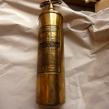 American LaFrance Fire Extinguisher Need Info