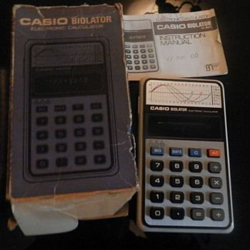 Vintage 1980-90s Casio Calculators