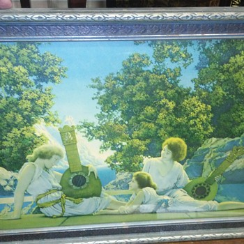 Maxfield Parrish print - Visual Art