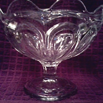 My Great Grandmother's Compote / EAPG / Circa Late 19th Early 20th Century - Glassware