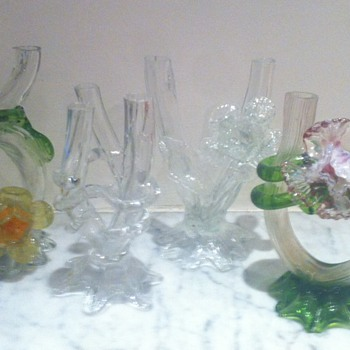My favourite Kralik tubes/flowers vases - Art Glass