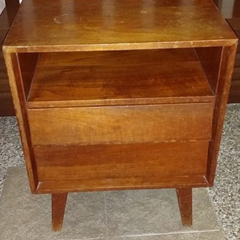 Vintage Bedside Cabinet - Furniture
