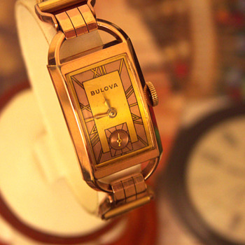 "Bulova ""American Eagle"" 1939 Deco Watch  - Wristwatches"