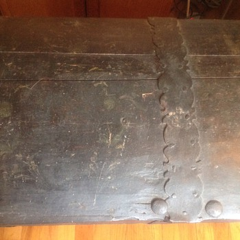 Old Norwegian Trunk - Furniture