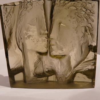 Jan Cerný Art Object - Art Glass