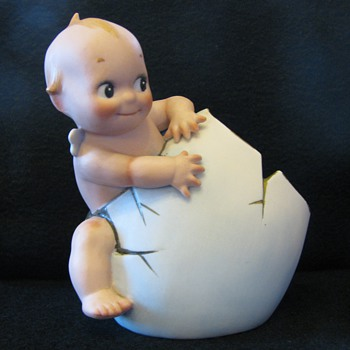 Rare bisque Kewpie - Dolls