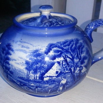 My 1920s english teapot from Arthur Wood & son