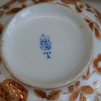 identify porcelain hand painted mark? Herend ..Hungarian ?