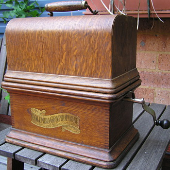 Columbia BK Jewel C 1906 Graphophone - Records