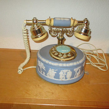 Wedgewood Jasper Dial Telephone - China and Dinnerware
