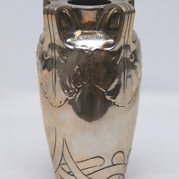 Silver Vase with Inscription (Denmark), 1905