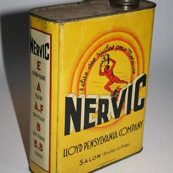 nervic oil can - Petroliana