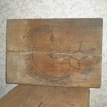 Rare Ottoman emblem of crate 19th century. - Advertising