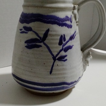 Frog Pitcher - Pottery