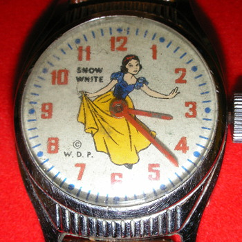 Snow White Watch - Wristwatches