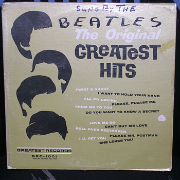 "Beatles ""pro-mo"" album - Records"