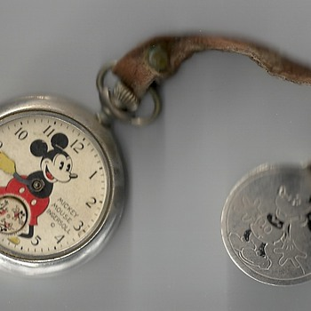 Ingersoll Mickey Mouse Pocket Wacth