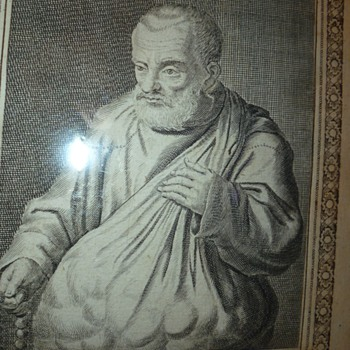 very old etching 1615
