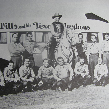 Bob Wills and his Texas Playboys - Photographs