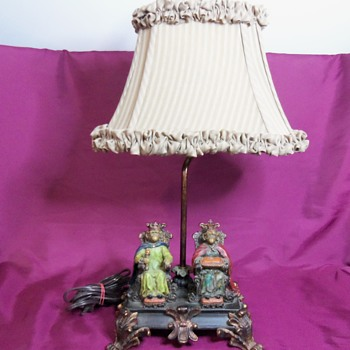 Monkey King and Queen Lamp - Lamps