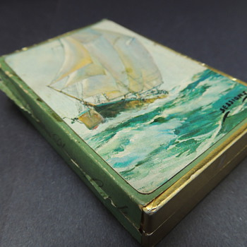 "Whitman Imperial Plastic Coated Playing Cards ""Sea Scenes"""