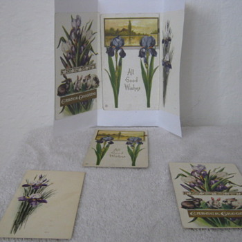 100 year old hand made postcards - Postcards