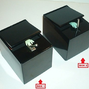 LITTLE BLACK BOX by Poynter Products, Inc., 1959 - 2 Toggle Lever Versions